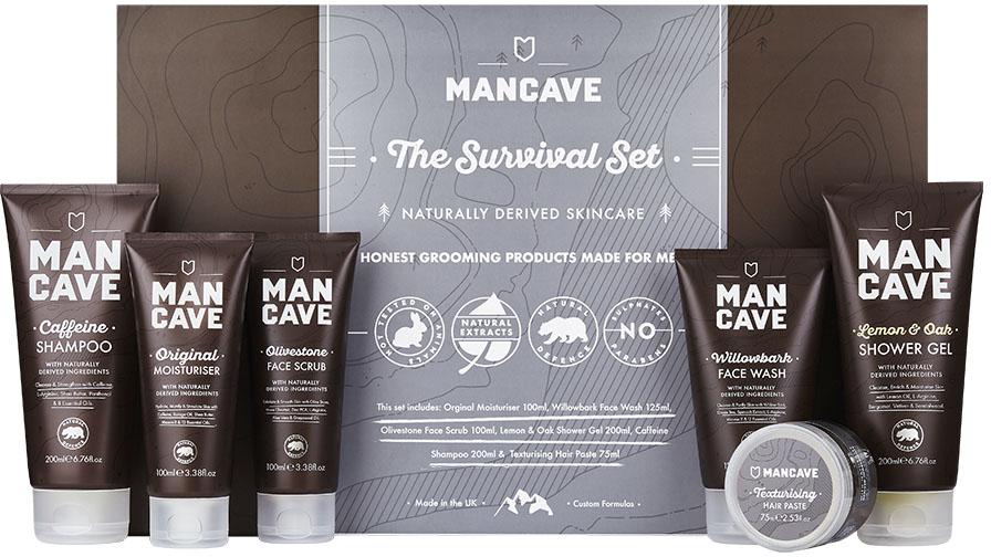 ManCave The Survival Set Körperpflegeset für Männer (6-tlg) Preisvergleich