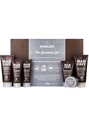 MAN CAVE Hautreinigungs-Set »The Survival Set«, (6 tlg.), für Männer kaufen