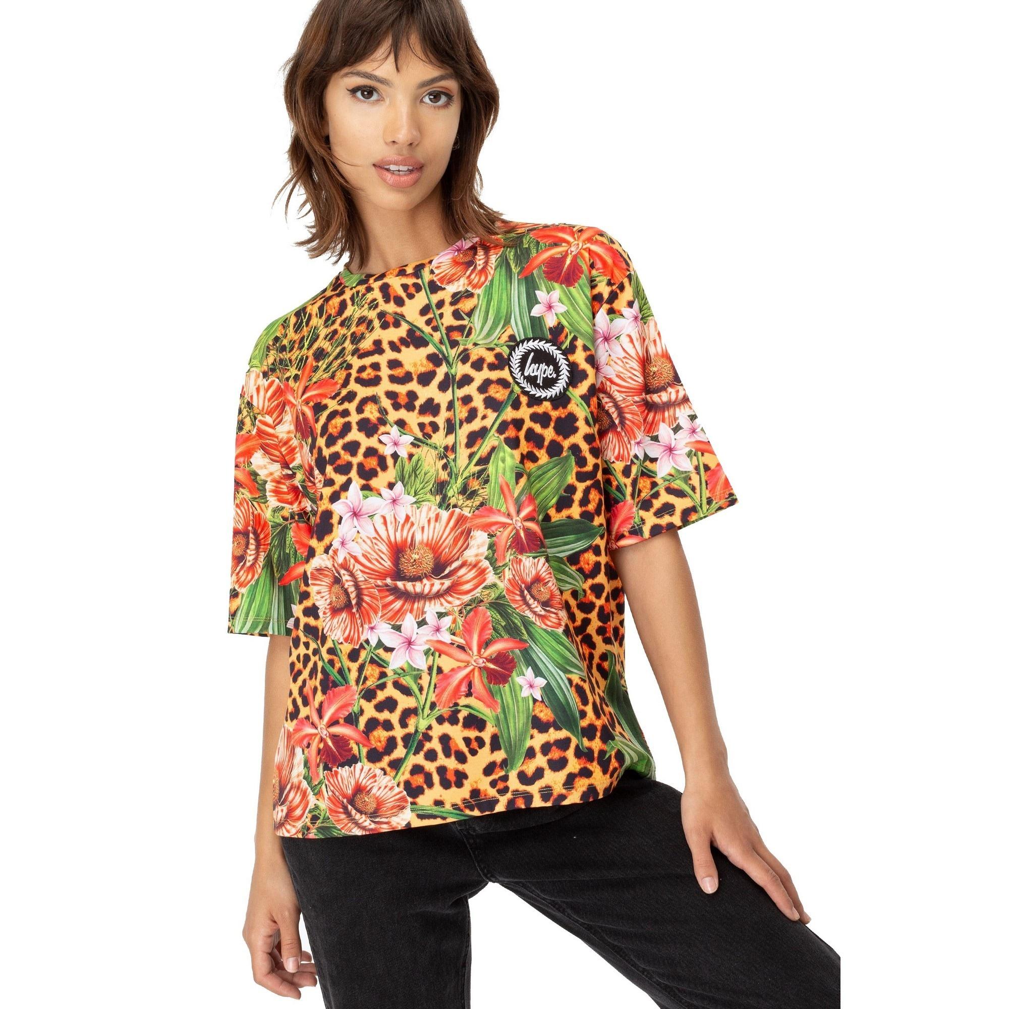 Hype T-Shirt Damen T-Shirt Jungle 23