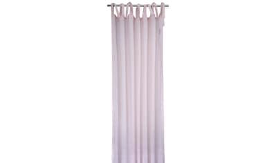 Vorhang, »LIGHT STRUCTURE«, TOM TAILOR, Bindebänder 1 Stück kaufen