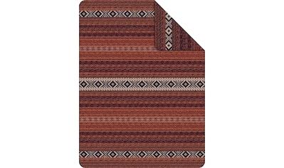IBENA Wohndecke »Jacquard Decke Kanpur«, mit Norwegermuster kaufen
