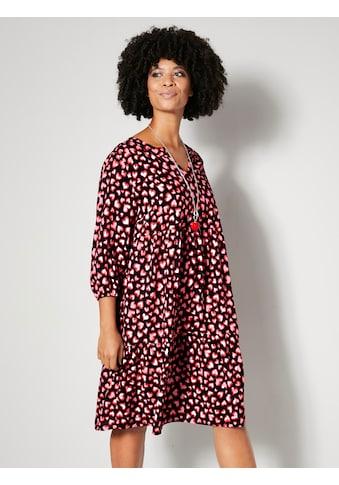 Angel of Style by HAPPYsize Druckkleid, aus reiner Viskose kaufen