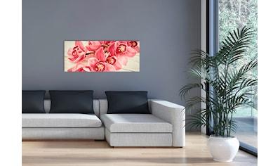 """Marmony Infrarotwandheizung »MOTIV-Heizkörper """"Pink Orchidee"""", 800 Watt«, aus... kaufen"""