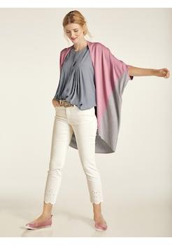 2df3805d40a9ce heine CASUAL Shirtbluse mit Materialmix kaufen