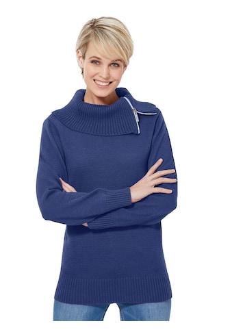 Casual Looks Pullover mit kuscheligem Kragen kaufen