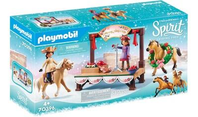 """Playmobil® Konstruktions - Spielset """"Weihnachtskonzert (70396), Spirit Riding Free"""", Kunststoff kaufen"""
