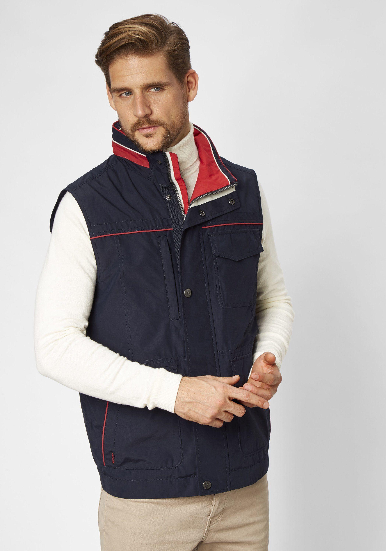 S4 Jackets klassische wasserabweisende Sommerweste Undercover   Bekleidung > Westen   Blau   Polyamid   s4 Jackets
