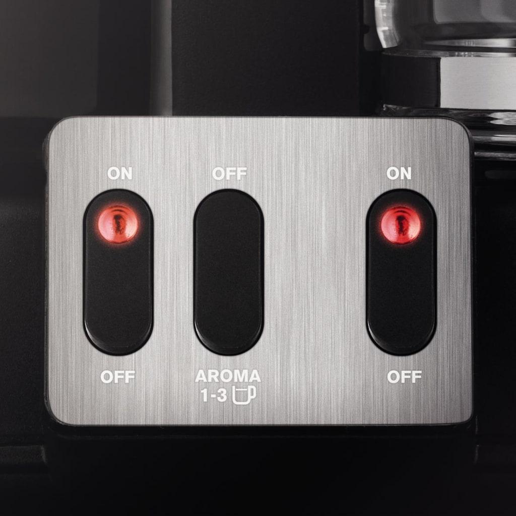 Krups Filterkaffeemaschine Duothek Plus KM8508, Papierfilter 1x4