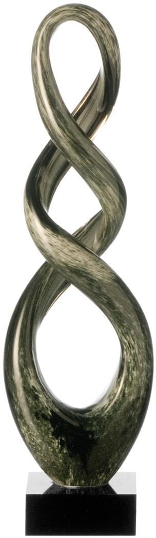 LEONARDO Dekoobjekt Turn, 39 cm grau Deko-Objekte Figuren Skulpturen Wohnaccessoires