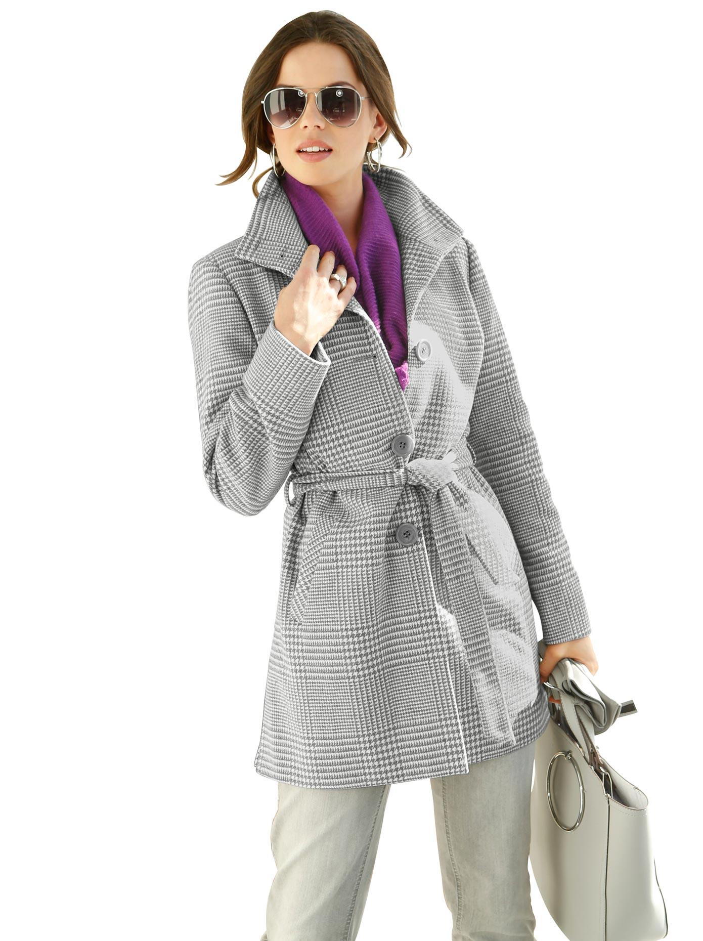 Lady Jacke im klassischen Glencheck-Muster   Bekleidung > Jacken > Sonstige Jacken   Lady