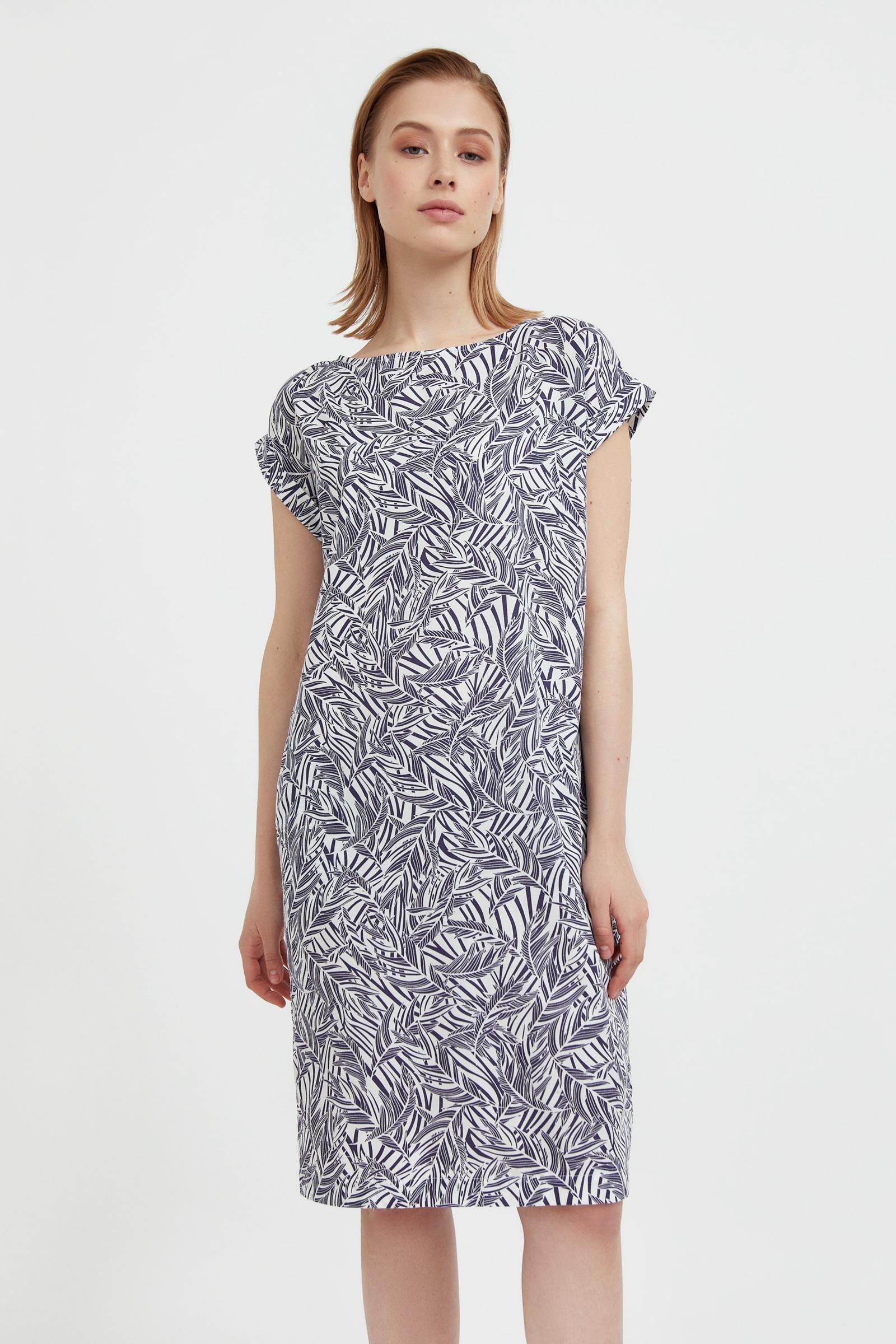 finn flare -  Jerseykleid, mit trendigem Alloverprint