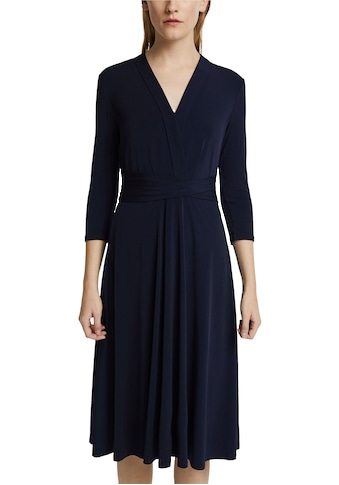 Esprit Collection Jerseykleid, Tailliengürtel kaufen