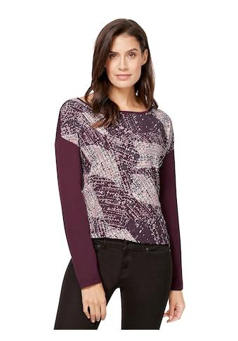Inspirationen Blusenshirt mit überschnittenen Schultern kaufen