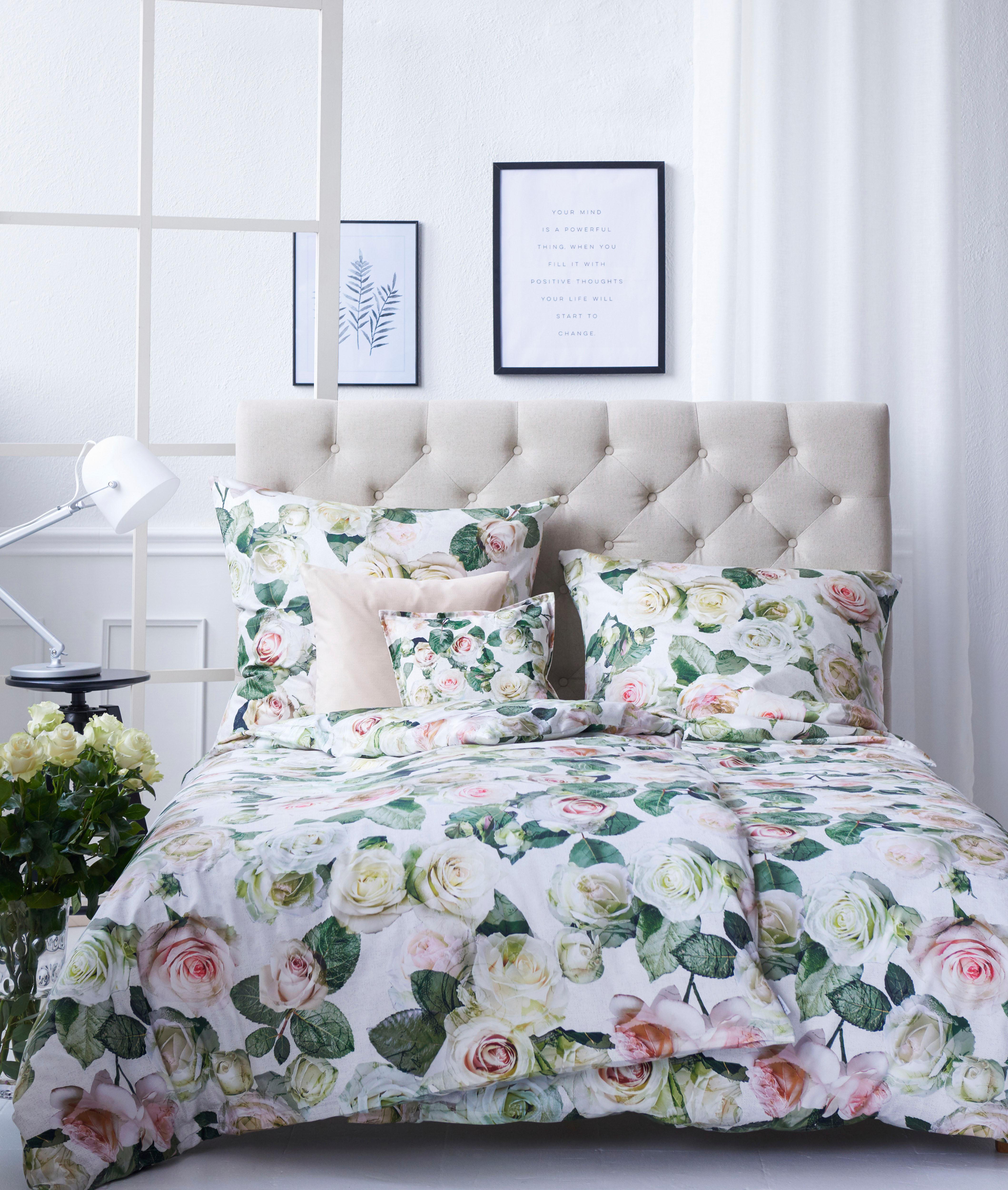 Elfenbein Weiss Baumwolle Bettwäsche Garnituren Online Kaufen