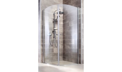 WELLTIME Runddusche »Florenz«, Viertelkreisdusche, BxT: 90 x 90 cm, 2 Türen kaufen