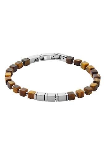 Skagen Armband »MIKAEL, SKJM0179040«, Tigerauge kaufen
