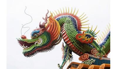 Papermoon Fototapete »Chinesischer Drache«, Vliestapete, hochwertiger Digitaldruck kaufen