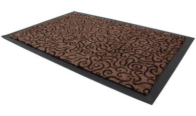 Primaflor-Ideen in Textil Fußmatte »BRASIL«, rechteckig, 6 mm Höhe, Fussabstreifer, Fussabtreter, Schmutzfangläufer, Schmutzfangmatte, Schmutzfangteppich, Schmutzmatte, Türmatte, Türvorleger, In- und Outdoor geeignet, waschbar kaufen