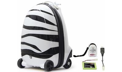 Jamara Kinderkoffer »Zebra«, 4 Rollen, mit 2,4 GHz Fernsteuerung kaufen