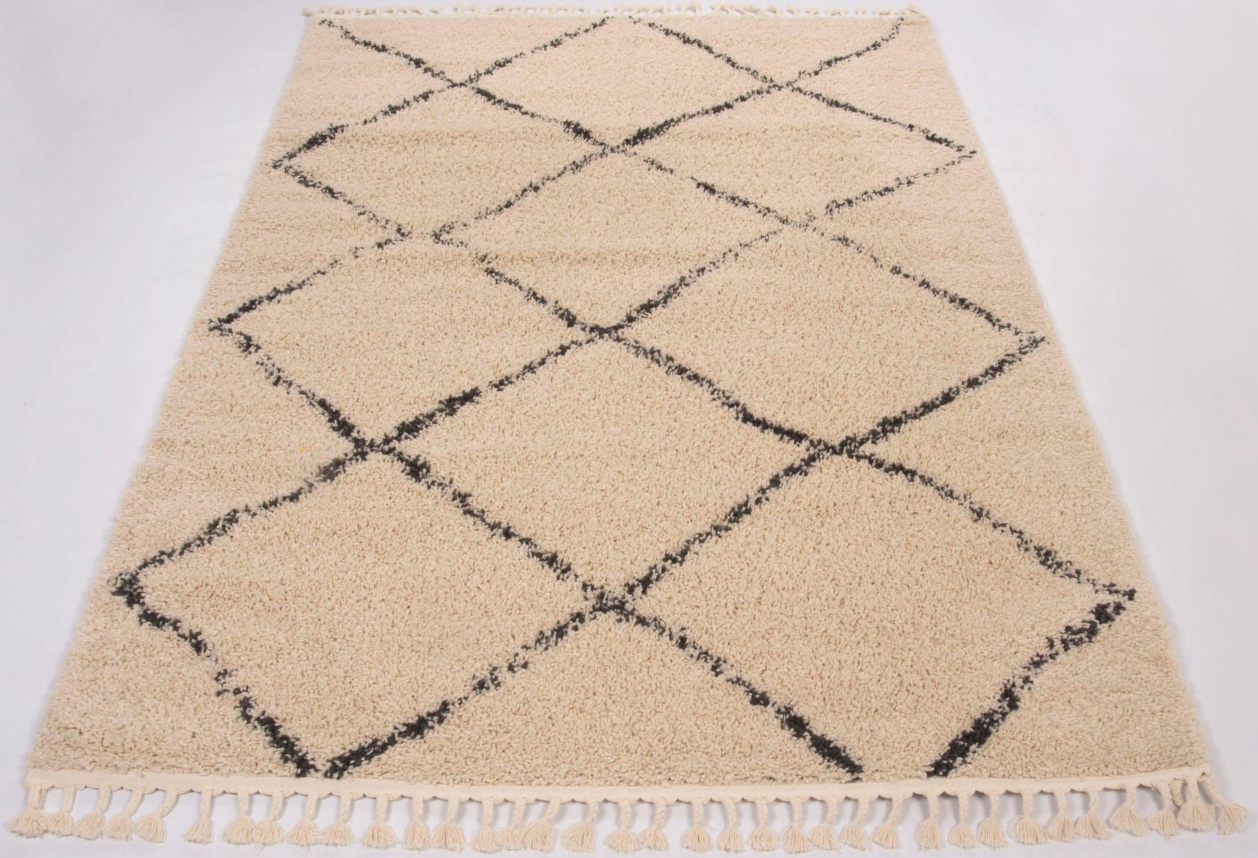 Hochflor-Teppich Donna GALLERY M rechteckig Höhe 30 mm maschinell gewebt