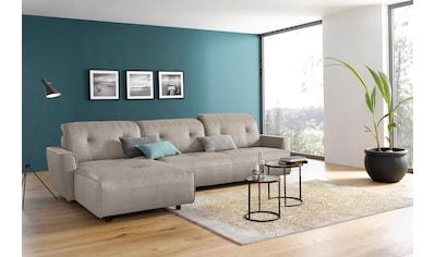 hülsta sofa Ecksofa »hs.400«, mit Rückenverstellung, Recamiere wahlweise links oder rechts kaufen