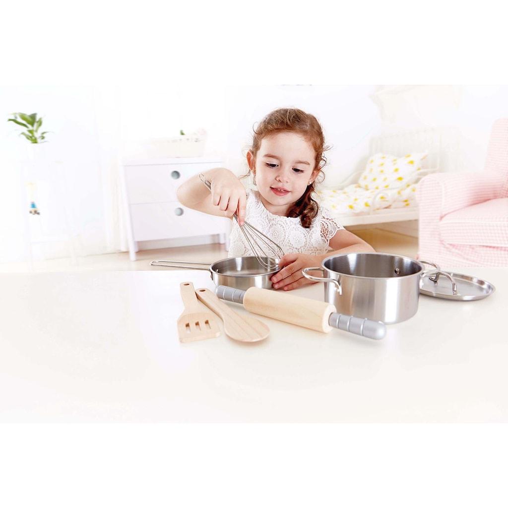 Hape Kinder-Küchenset »Kochset für Küchenchefs«, (7 tlg.)