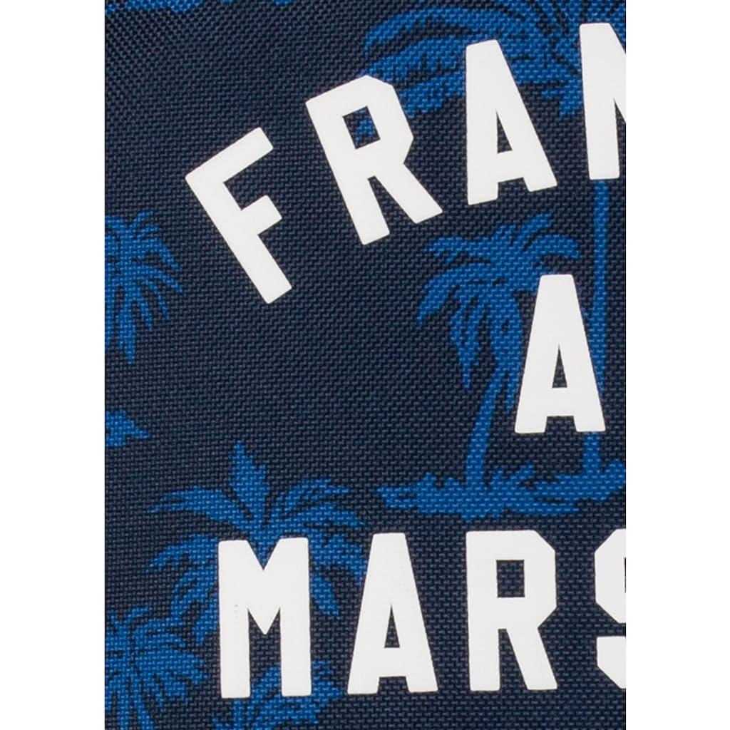 Franklin & Marshall Freizeitrucksack »Boys, Palmen, 19 Liter, blau«