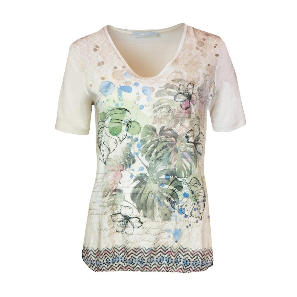 bianca Print-Shirt »EDIRA«, mit aufregendem Mustermix im Jungle- & Ethno-Stil