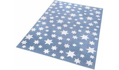 Kinderteppich, »Jeans Star«, Wecon home, rechteckig, Höhe 8 mm, maschinell gewebt kaufen