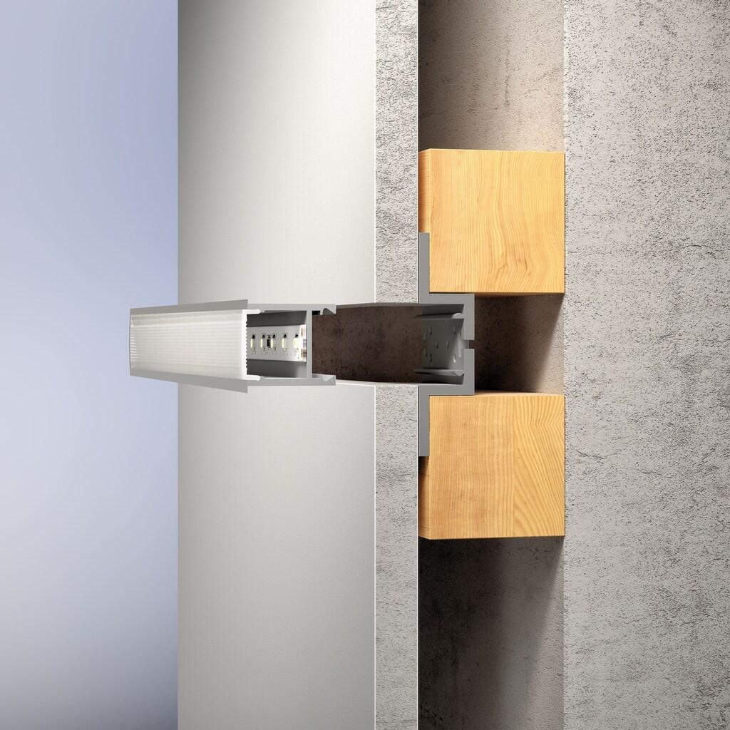 Paulmann LED-Streifen »Deep Profil mit Diffusor 100cm Alu eloxiert«