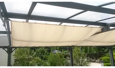 Floracord Seilspannsonnensegel »Innenbeschattung«, BxT: 420x140 cm, 1 Bahn kaufen