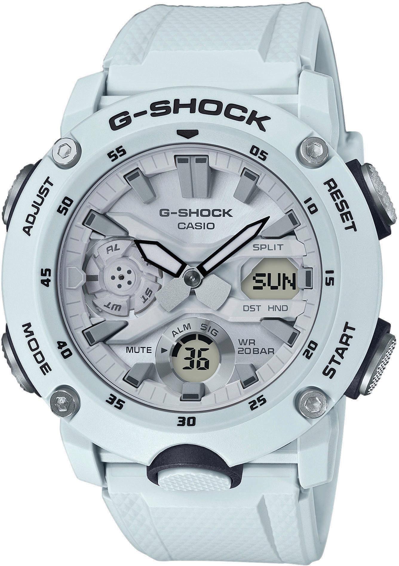 CASIO G-SHOCK Chronograph GA-2000S-7AER | Uhren > Chronographen | Weiß | Casio G-Shock