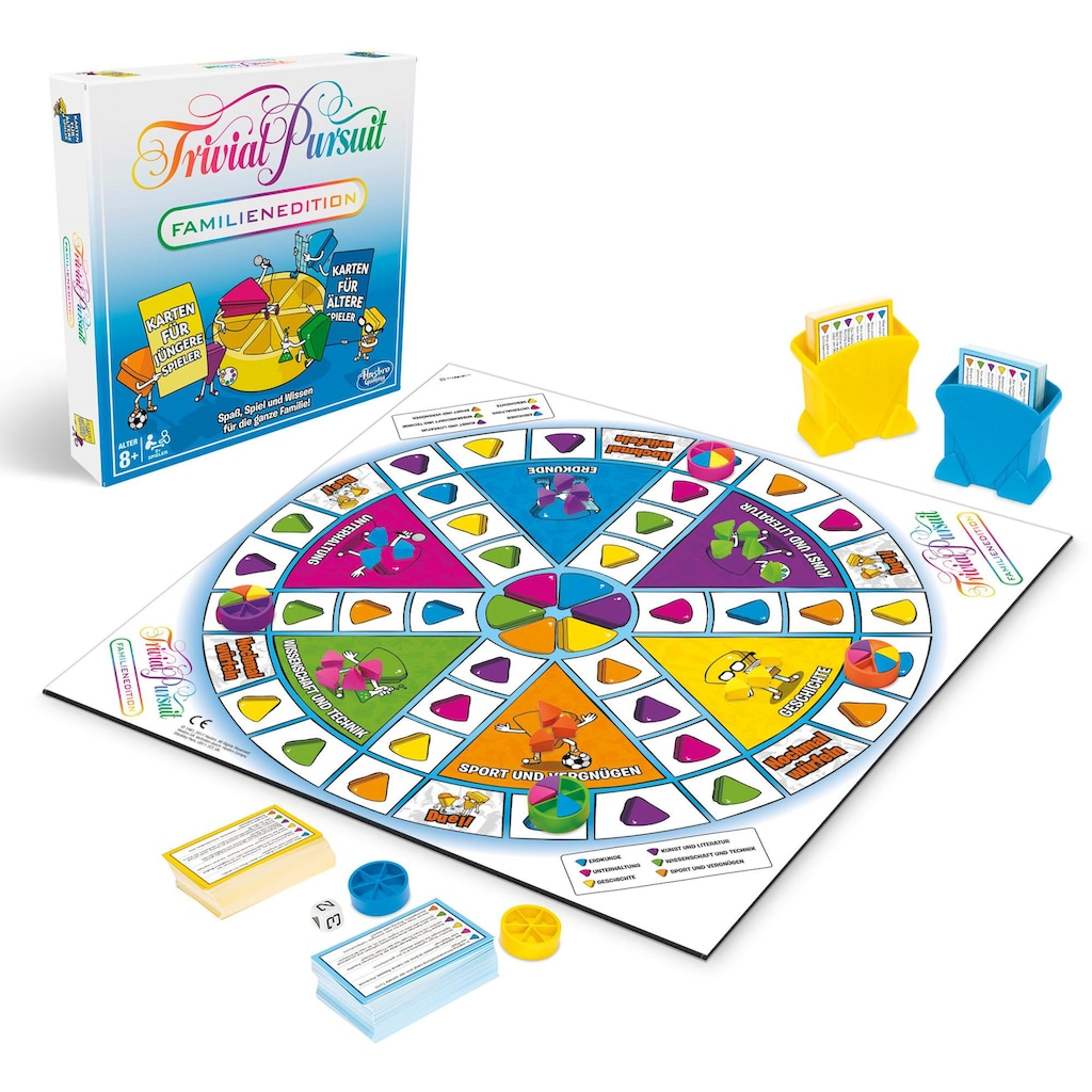 Hasbro Spiel »Trivial Pursuit Familien Edition«, Made in Europe