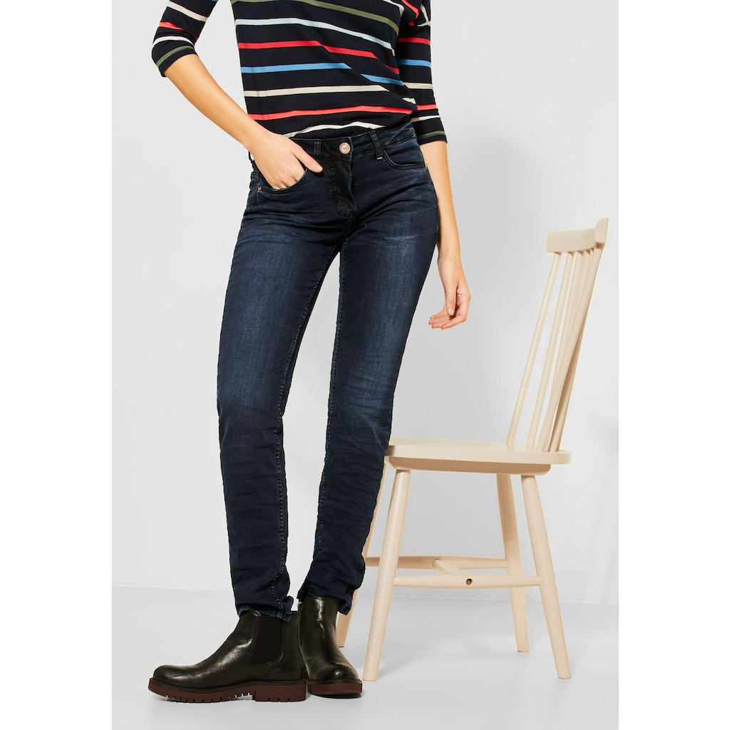 Cecil Slim-fit-Jeans, 5-Pockets Style