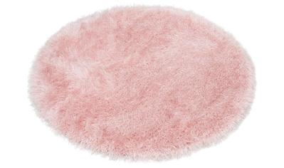Hochflor - Teppich, »Glossy 411«, merinos, rund, Höhe 70 mm, maschinell gewebt kaufen