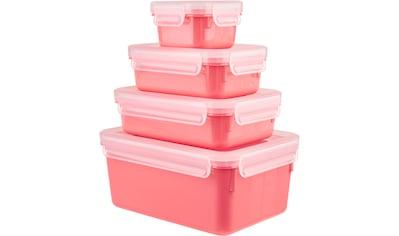 Emsa Frischhaltedose »Clip & Close Color Edition«, (Set, 4 tlg.), auslaufsicher,... kaufen