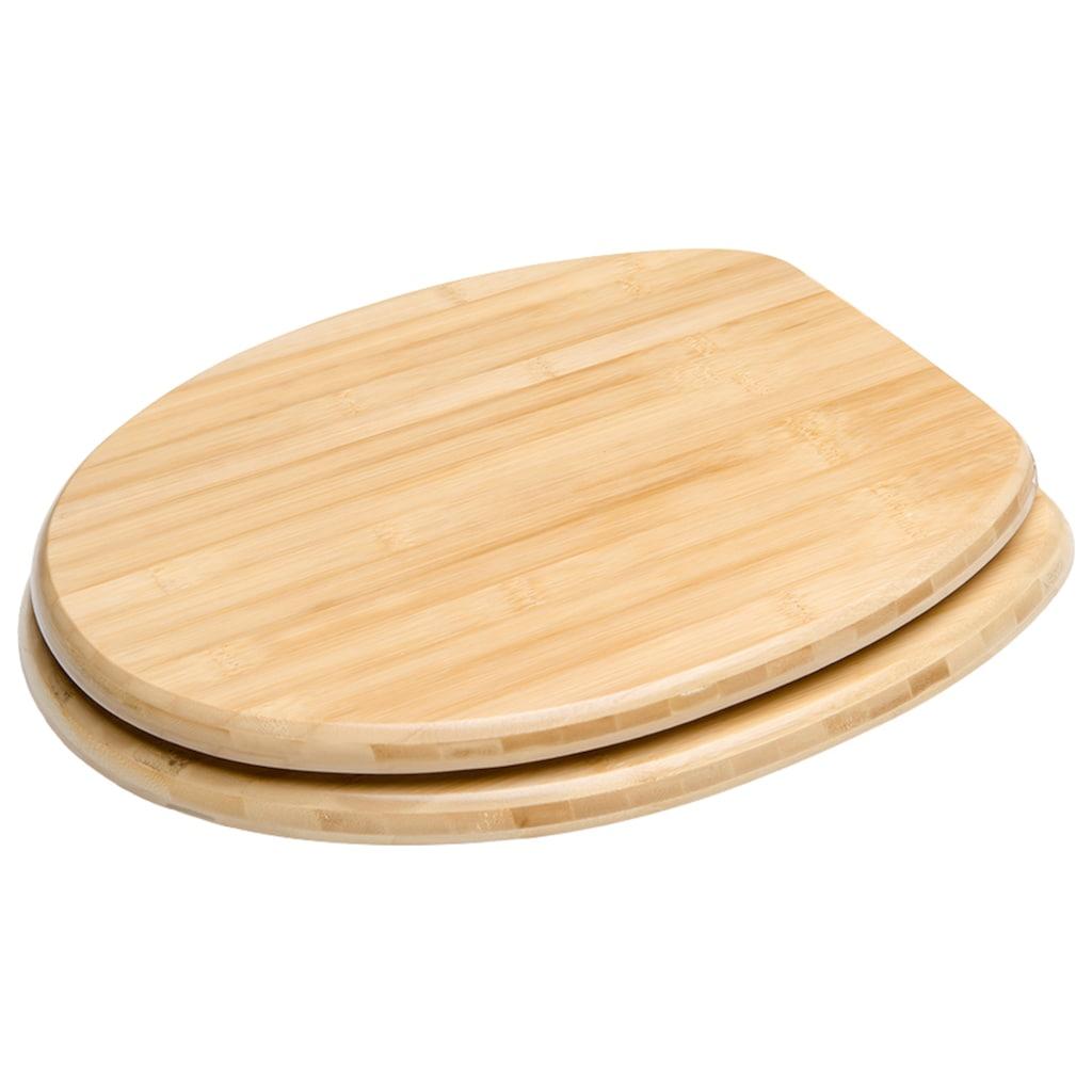 Sanilo WC-Sitz »Bambus«, mit Absenkautomatik