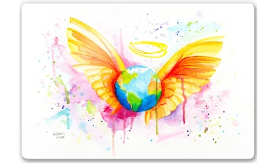 Wall-Art Glasbild »Buttafly - Angel«, 60/40 cm kaufen