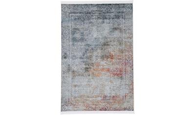 carpetfine Teppich »Lali«, rechteckig, 8 mm Höhe, Vintage Look, Wohnzimmer kaufen