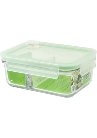 Glasslock Aufbewahrungsbox »Duo-Air«, (1 tlg.), 2-Kammer-rechteckig, mit... kaufen