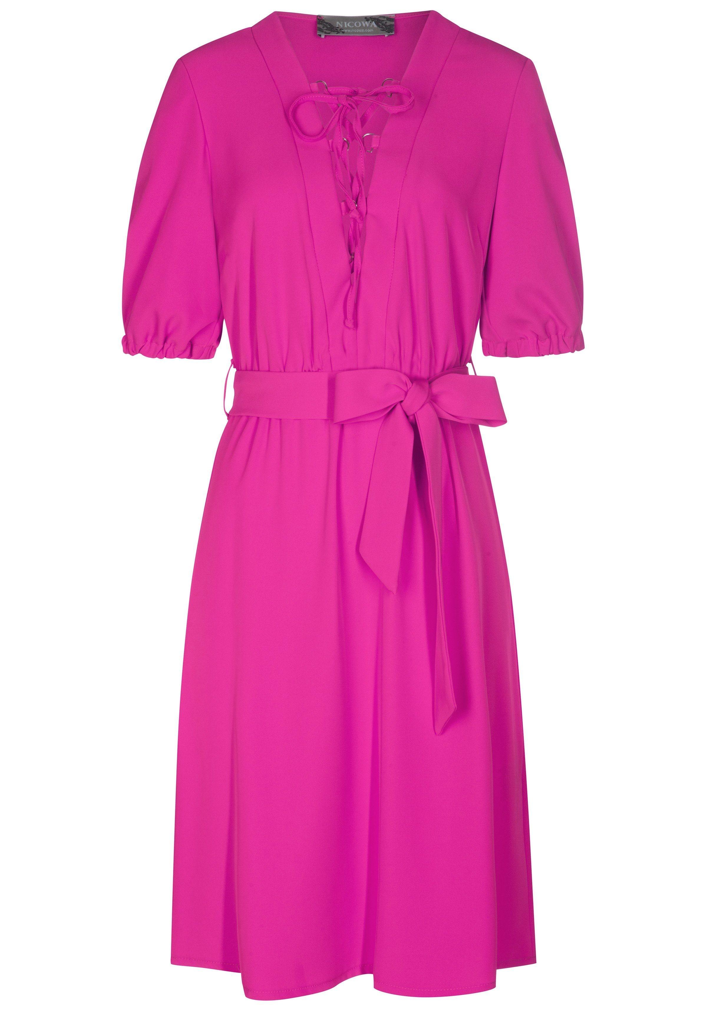 Nicowa Stilvolles Kleid ADA mit modischen Details