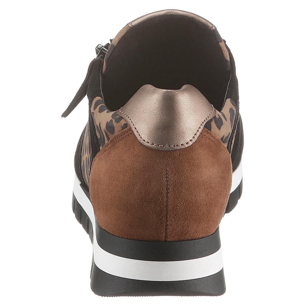 Gabor Keilsneaker, im Animal Look