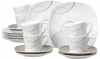 "Ritzenhoff & Breker Kaffeeservice ""Alina"" (18 - tlg.), Porzellan kaufen"