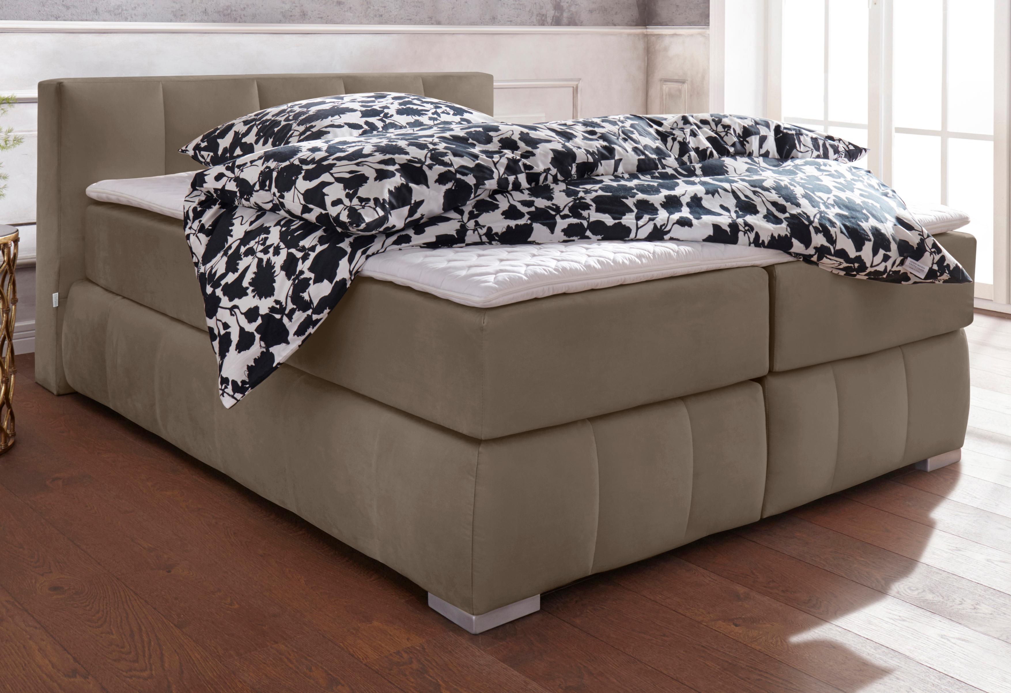 GMK Home & Living Boxspringbett  Chelles , inkl. Kaltschaumtopper, in 5 Breiten und 3 Ausf Preisvergleich