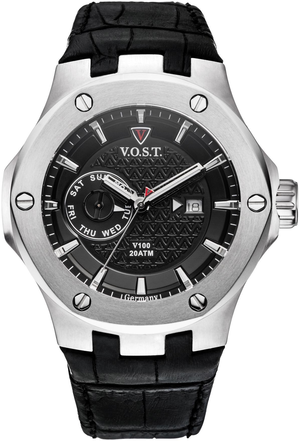 V.O.S.T Germany Multifunktionsuhr V100.004.MS.SS.L.B | Uhren > Multifunktionsuhren | V.O.S.T Germany