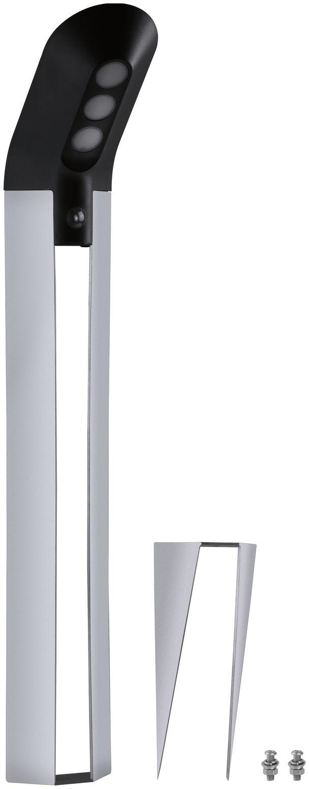 Paulmann LED Pollerleuchte Soley, LED-Board, 1 St., Warmweiß, Outdoor Solar ZigBee