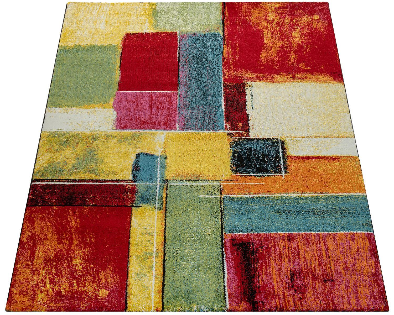 Teppich Canvas 783 Paco Home rechteckig Höhe 18 mm maschinell gewebt