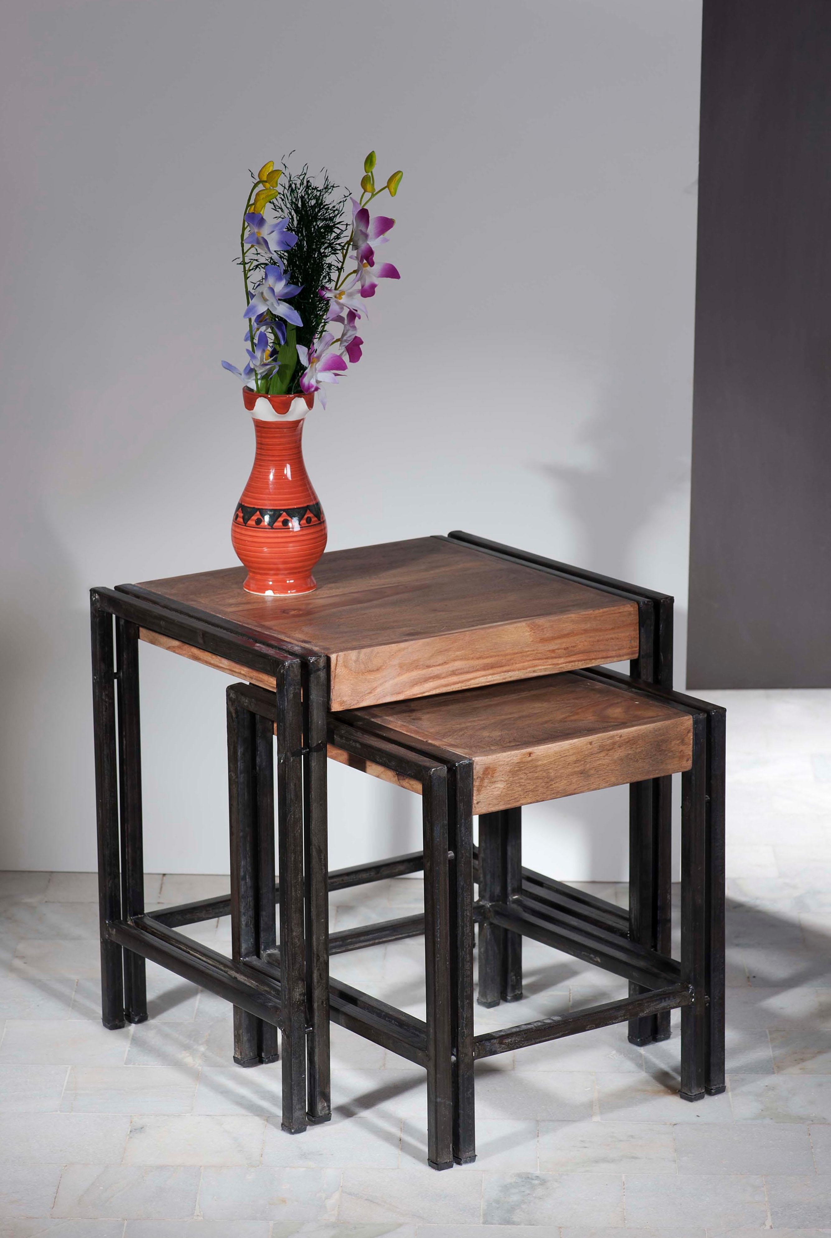 SIT Beistelltisch Panama (2er-Set) Wohnen/Möbel/Tische/Holztische/Holz-Beistelltische