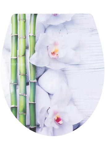 CORNAT WC - Sitz »Bambus«, Relief - Motiv kaufen