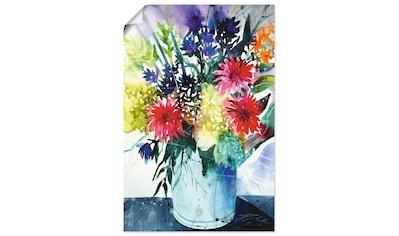 Artland Wandbild »Gerbera und Flieder in Vase« kaufen